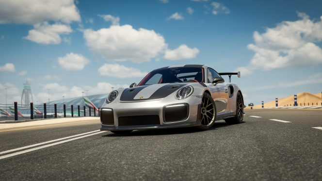 Forza 7 Porsche GT2 RS Front Road
