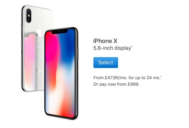 Apple iPhone X Silver